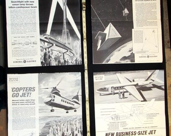 Sci Fi Class Posters 1960s