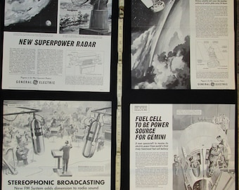 Sci Fi Science Class Posters 1960s No. 3 Collection