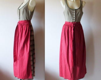 Authentic Dirndl, Traditional Bavarian Costume, Tailored Fashion, OOAK