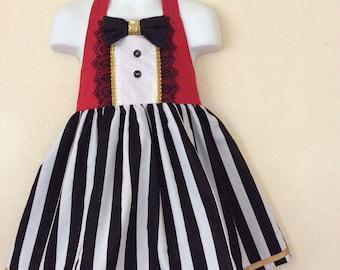 Girls circus ringmaster dress 3T,