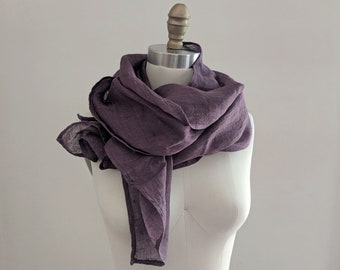f389afcb SALE - 10 Earth Tone Colors! Unisex 100% Linen Scarf / by Breathe Clothing