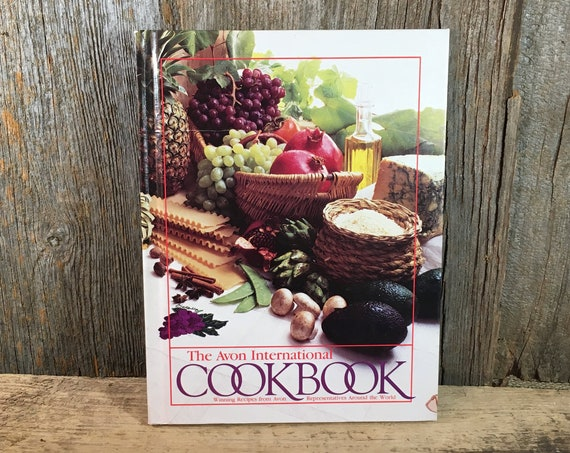 The Avon International Cookbook, vintage Avon cookbook, International recipes, Avon International recipes, Puerto Rican recipes,belgium food