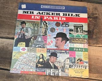 Mr. Acker Bilk in Paris with the Leon Young string Chorale, 1966 Atlantic records Mr. Acker Bilk, Bernard Stanley album, vintage vinyl album