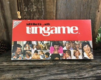 Vintage Ungame 1975, unique game for friends and family, vintage games, Christian board game for all, great fun games, old school games