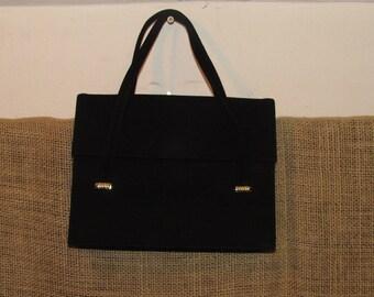 Vintage Mayer New York handbag, Vintage handbag, Mayer New York handbag, Vintage purse, FREE SHIPPING, vintage black purse, 60's purse