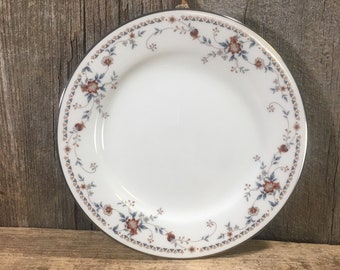 Noritake Adagio Fine China replacement salad plate, need a replacement for your Noritake Ivory China, platinum edge salad plate, replacement