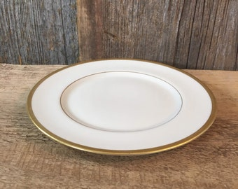 Franciscan China Wilshire Encanto Coupe bread and butter plate, vintage Wilshire Franciscan China 1930's Franciscan bread and butter plate