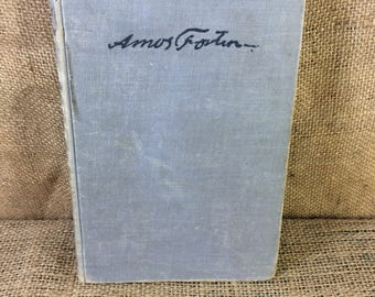 Vintage from 1951 Amos Fortune, Amos Fortune slave to buying freedom, great vintage book a greater story, book about slavery and freedom