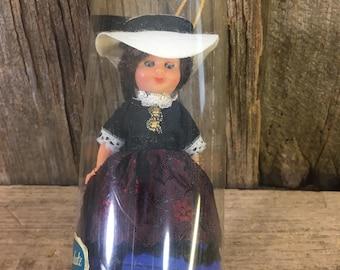 "Vintag Goldschatz doll, 5"" vintage doll, made in Germany doll, Jule Hus solvang california, doll collectors"