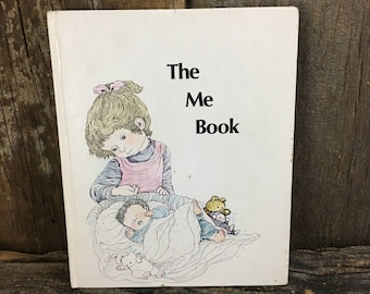 The Me Book Britannica Discovery Library, 1986 vintage Children's book, The Me Book, Britannica Discovery Library, learning book,childs book