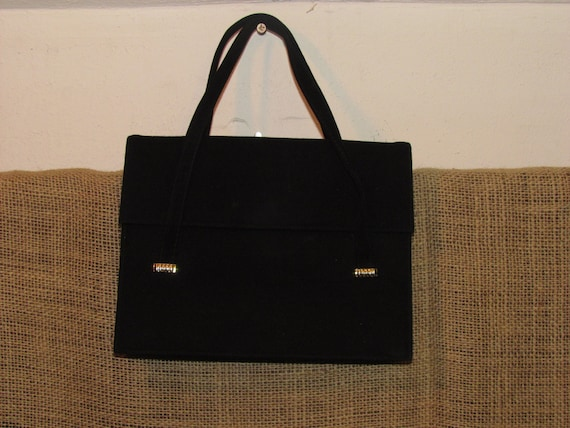 Vintage Mayer New York handbag, Vintage handbag, Mayer New York handbag, Vintage purse, FREE SHIPPING, vintage black purse, 60's purse