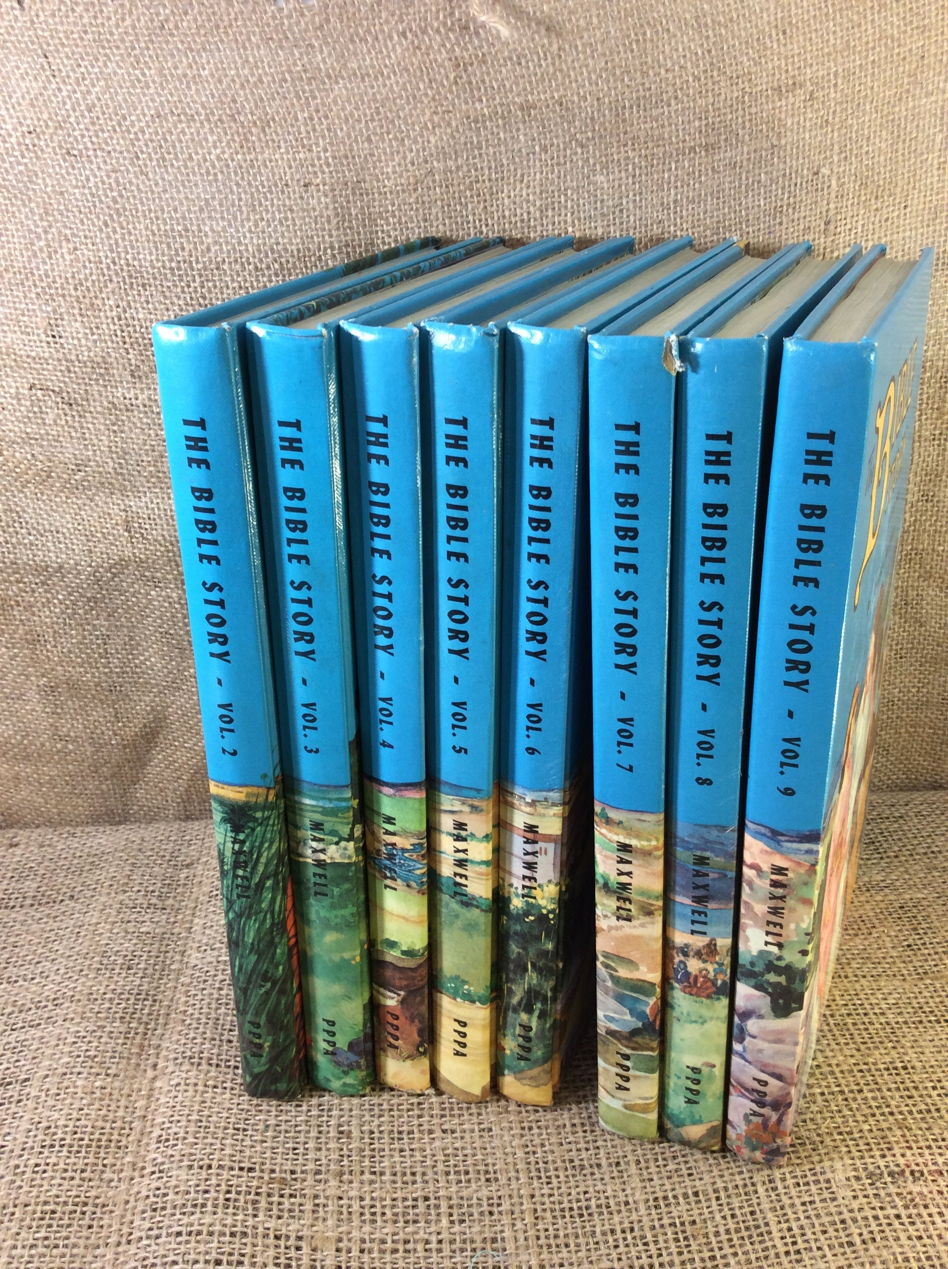 The Bible Story from 1954 Arthur Maxwell volumes 2-9 available, sold