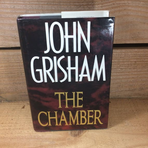 The Chamber by John Grisham, First Edition John Grisham book, The Chamber first edition, vintage book gift, 1994 The Chamber