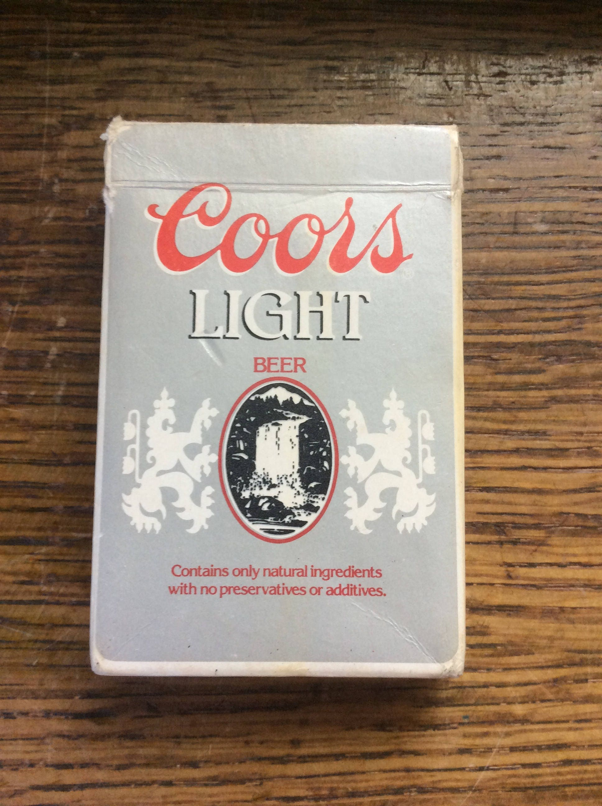 Vintage Coors Light Playing Cards, Beer Collector Cards, Beer Playing  Cards, Great Man Cave Item, Unique Vintage Gift, Vintage Collectibles