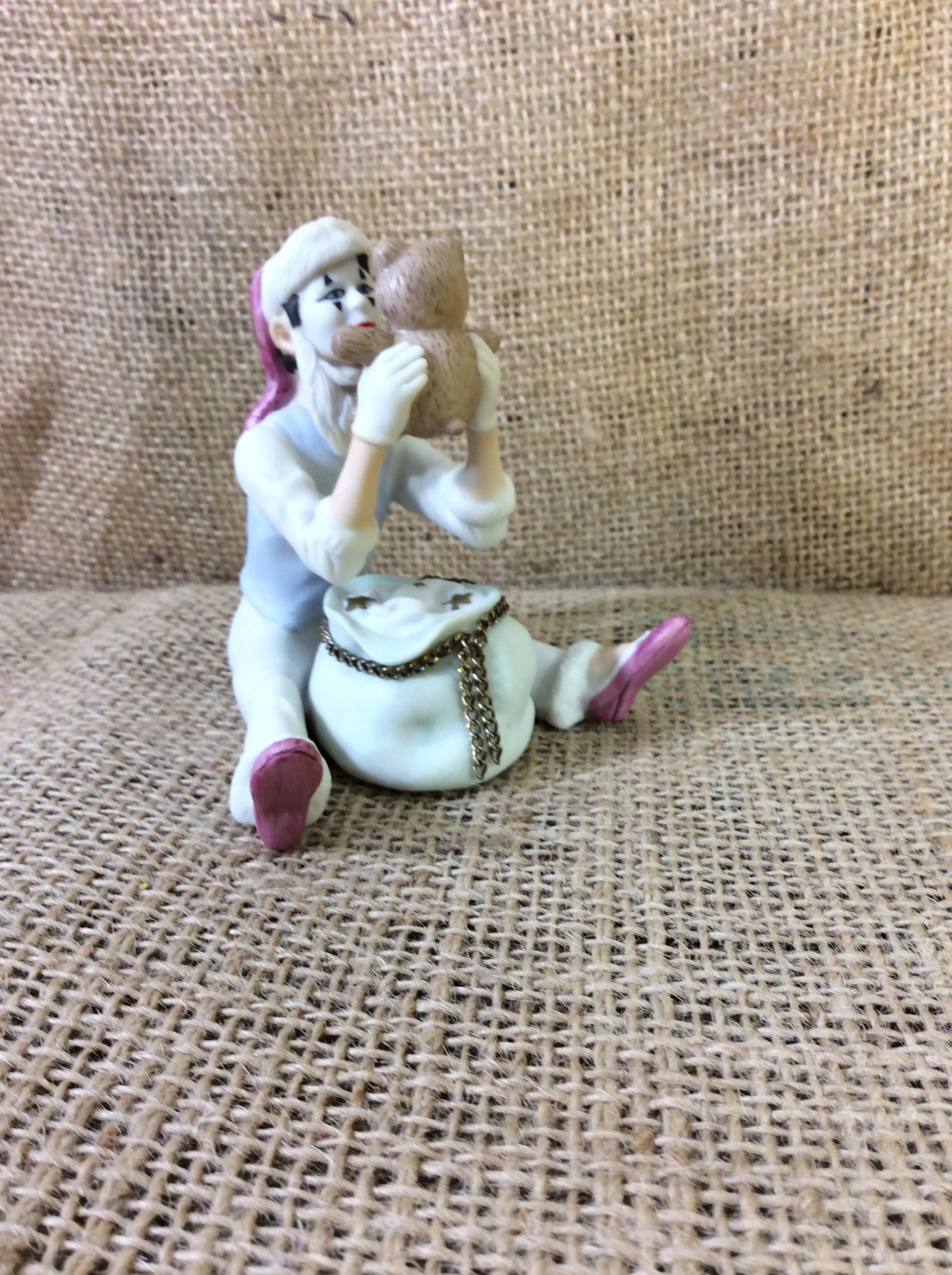 Vintage limited edition Hallmark Christmas Time Mime, Mime fans ...