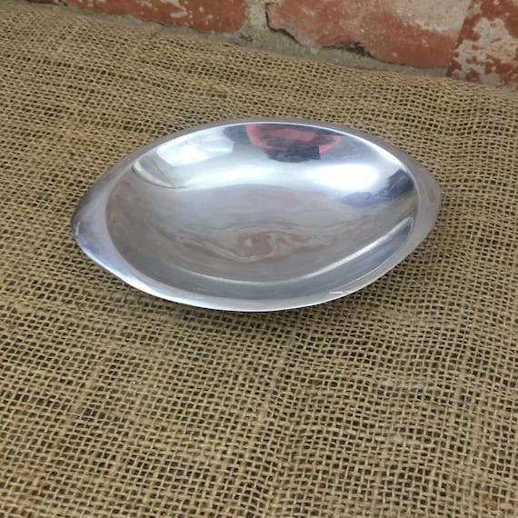 Vintage small Nambe 509 nut tray, Nambe little sauce tray, Nambe small piece, Vintage Nambe, Nambe 509 little tray bowl