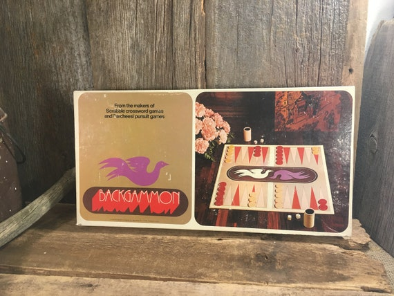 Backgammon, 1975 Backgammon, vintage backgammon board game, vintage games, retro games, game night, old games, family night fun, family fun