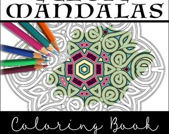 Celtic coloring book | Etsy