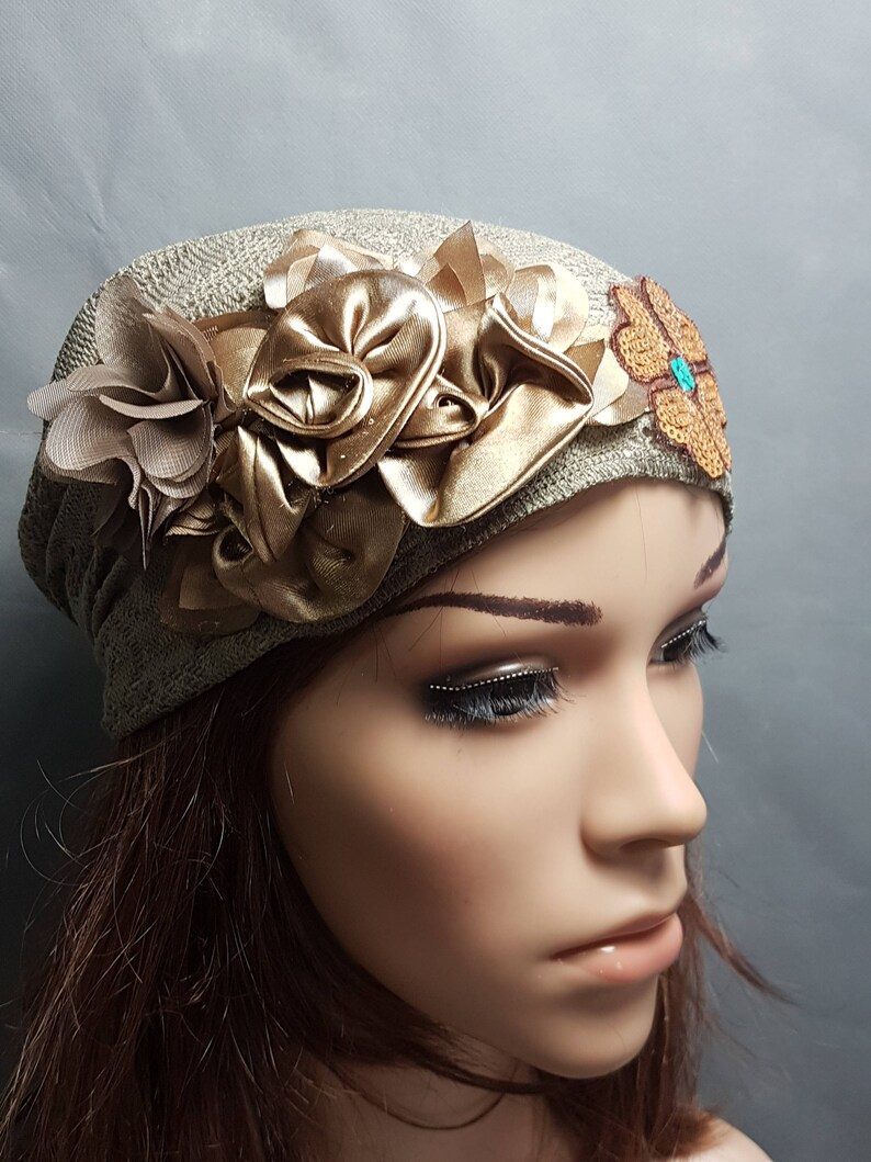 ac2157f34b0 Brown Green Headscarf Head Scarf Women Bandana Chemo Cap