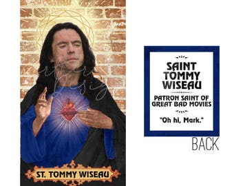 47e656bdaa2 Saint Tommy Wiseau    Prayer Candle    The Room