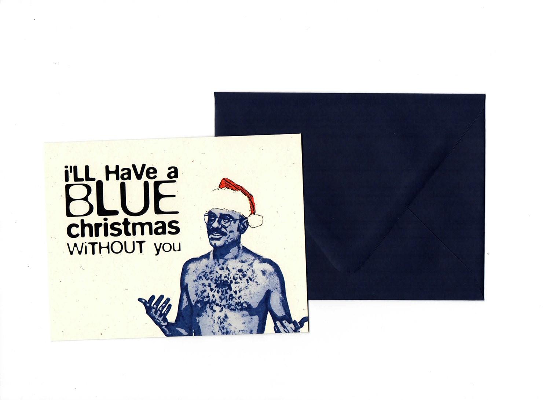 Blue Christmas // Arrested Development Christmas Card | Etsy