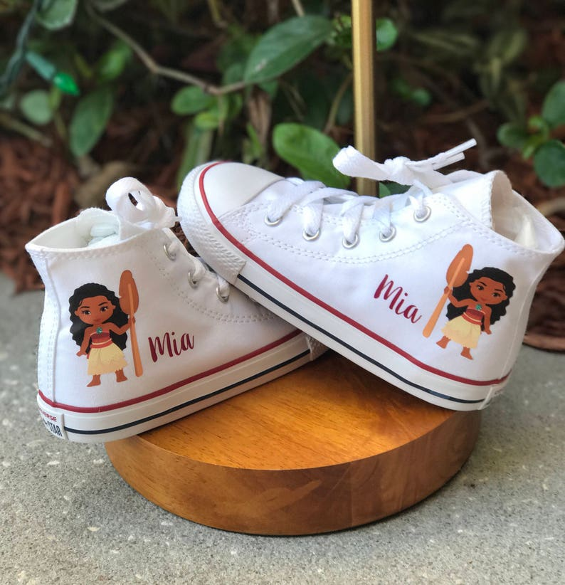 8205ee81f8ee Personalized Moana converse customized chucks Minnie and