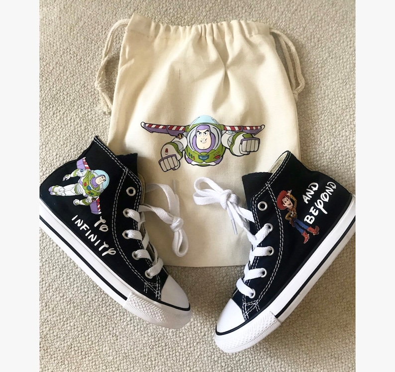 9982fa229e Toy Story Shoes personalized chuck taylors customized