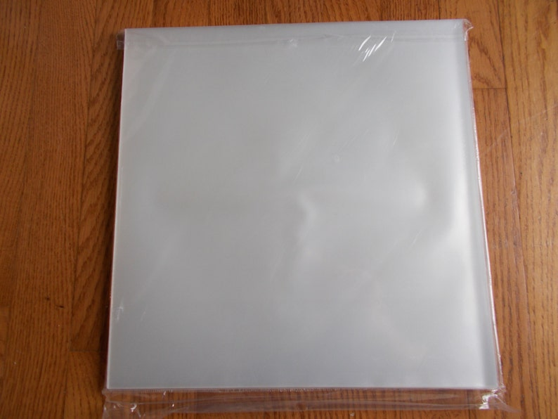 Shop For Cheap 200 Clear Plastic Lp Outer Sleeves 3 Mil High Quality Vinyl Record Album Covers Music