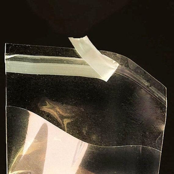 50 tira de sello del uno mismo Violonchelo Bolsas Adecuado para sobres y tarjetas de 5 X 7