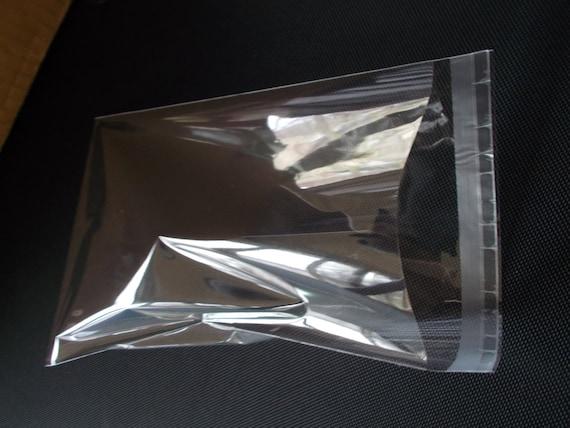 Vestes claire sacs de carte manches violoncelle-affichage de cellophane sac de manches