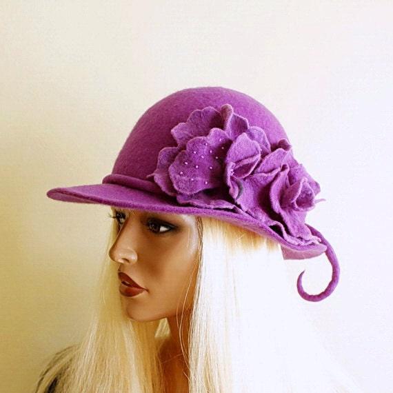 Amaranto cappello Deep Purple     hat taglia 22  ad4ac30f4d8d