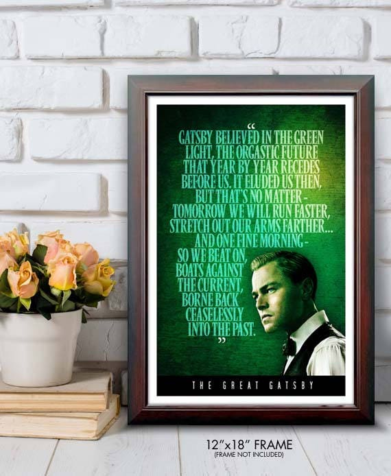 gatsby green light quote