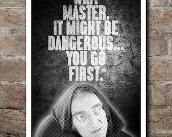 "YOUNG FRANKENSTEIN - IGOR Quote Poster (12""x18"")"