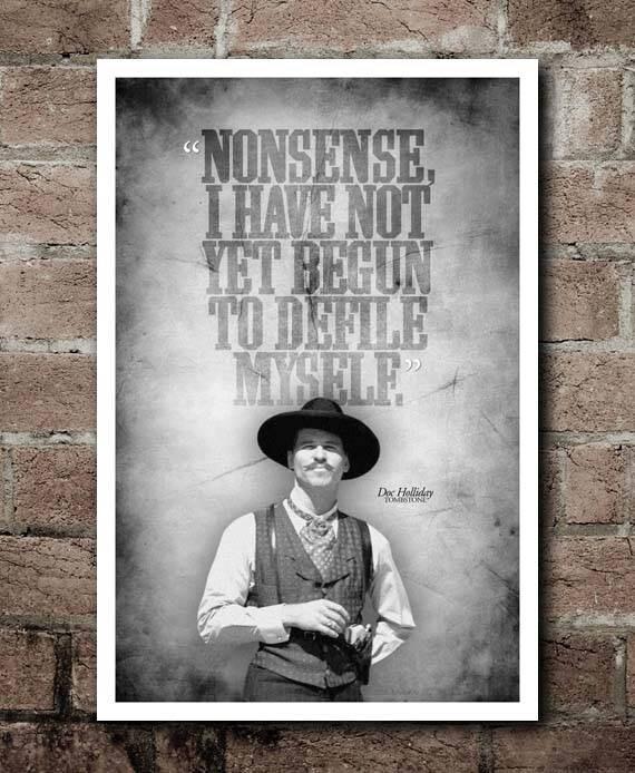 TOMBSTONE Doc Holliday \