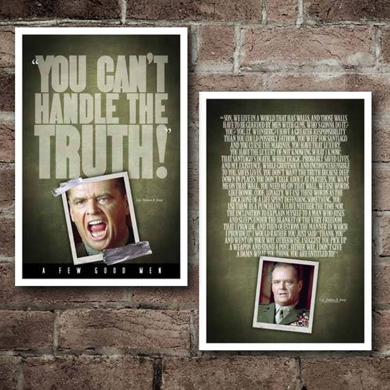 A Few Good Men Combo Pack Free Shipping Etsy