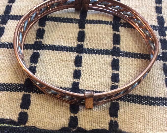 Copper bracelets  Bracelets Flat design