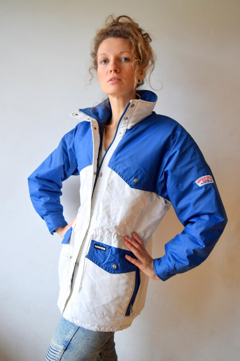 c2b4240e8155 LEGENDARY white winter jacket Women snow jacket Oversized | Etsy