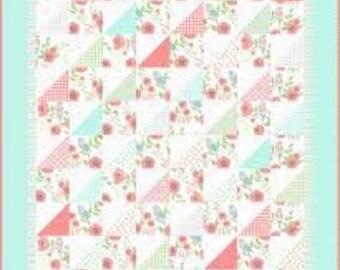 Not Too Shabby Flower Garden Kwik Kit Quilt