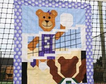 Volleyball Quilt Pattern