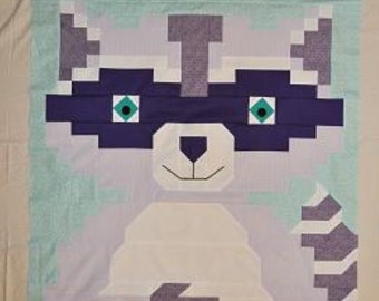 Raccoon Quilt Pattern