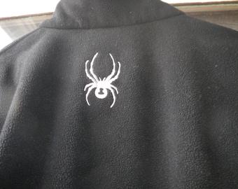 SALE   -  Vintage Black  Spyder Jacket