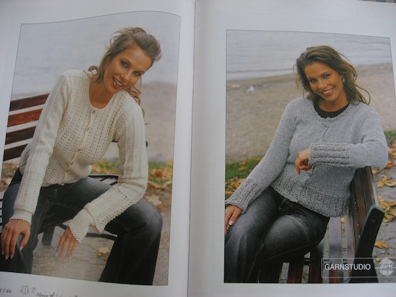 Drops Knitting Patterns 84 Etsy