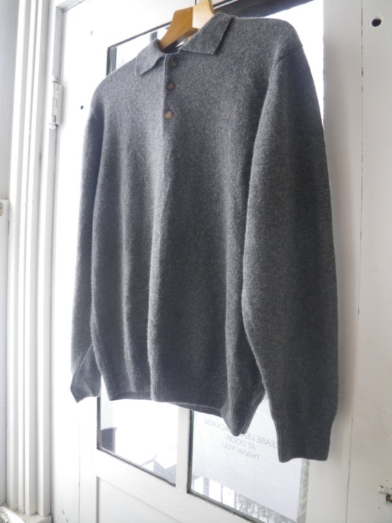 Men's Wool and Cashmere Sweater