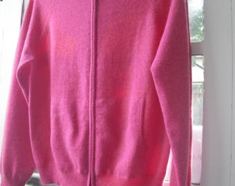 100% Cashmere Sweater Hoodie
