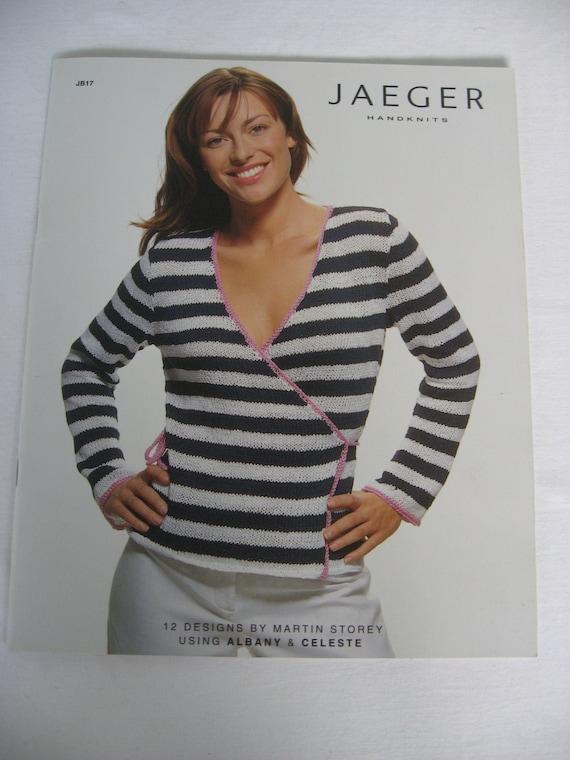 Sale Jaeger Knitting Book Jb17 Etsy
