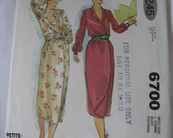 PATTERN SALE   -    McCalls 6700 Sewing Pattern