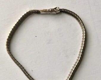 sterling vintage chain bracelet