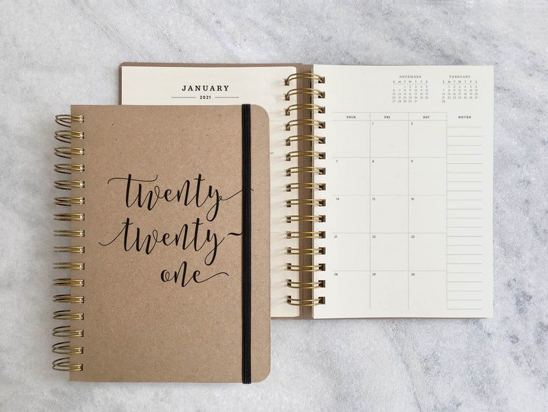 2021 planner  12 month planner 2021  monthly planner  image 0