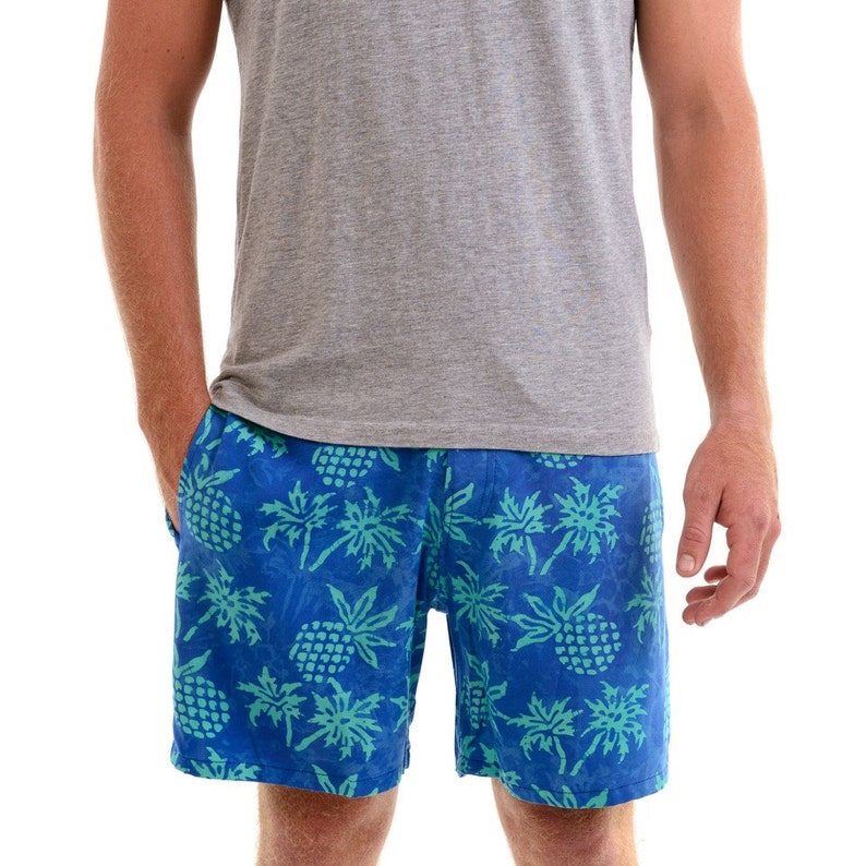 10245780fce3b Mens Pineapple Walk Shorts Mens Boardshorts Volley Shorts | Etsy