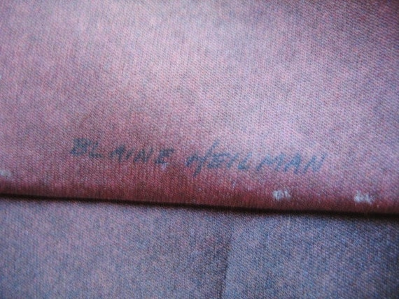 Mens Vintage 1990s Ralph Marlin Label Blaine Heil… - image 6